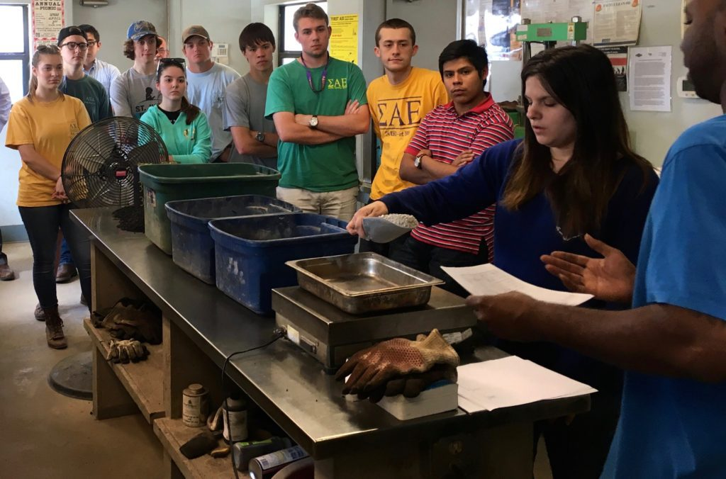 CBU Students Visit Plant 5